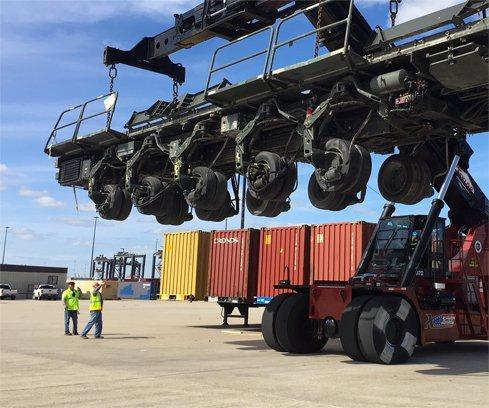 Transloading & CFS Operations